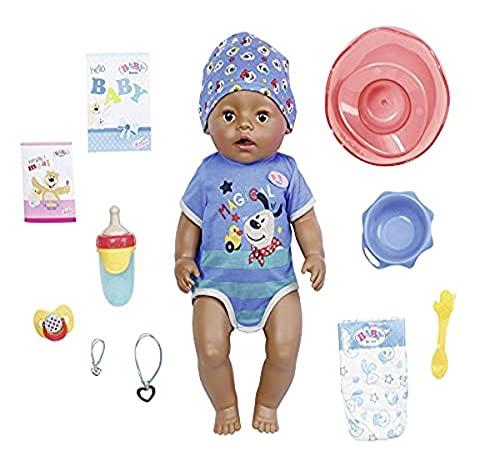 Zapf Creation 831656 BABY born Magic Boy DoC 43 cm - neu mit magischem Schnuller und 10 lebensechten Funktionen
