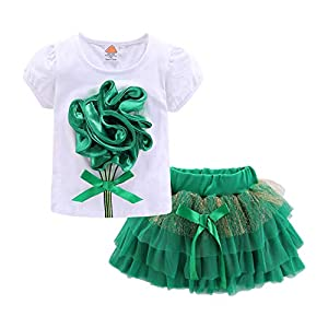 LittleSpring Baby Girls' Clothes Set...