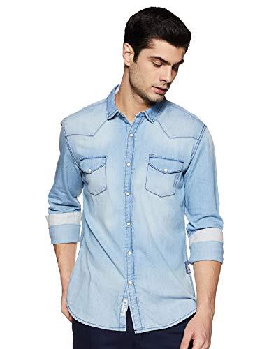Amazon Brand – Inkast Denim Co. Men's Slim Fit Casual Shirt