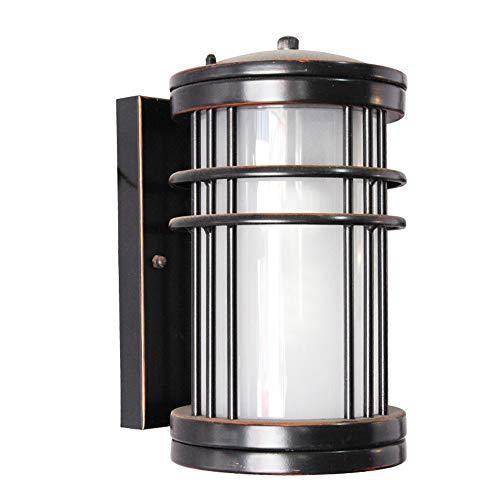Modeen American Country plegable telescópica lámpara de pared al aire libre de aluminio acrílico e27 Industrial retro balcón pasillo lámpara de pared impermeable luz E27 decoración lámpara de pared ap