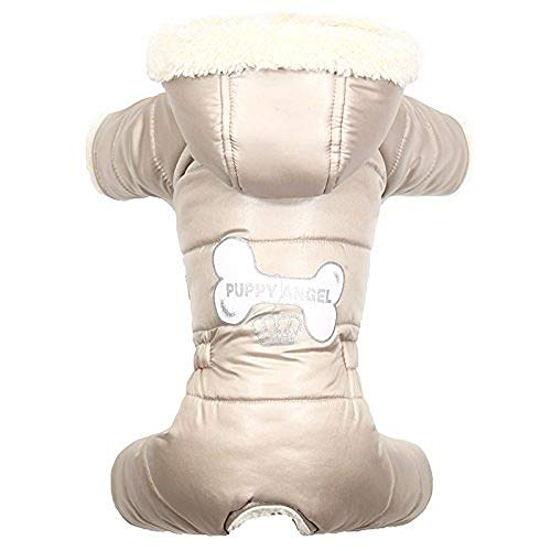 Puppy Angel Lovely Bone Capuche pour Chien Femelle Beige Taille M/L