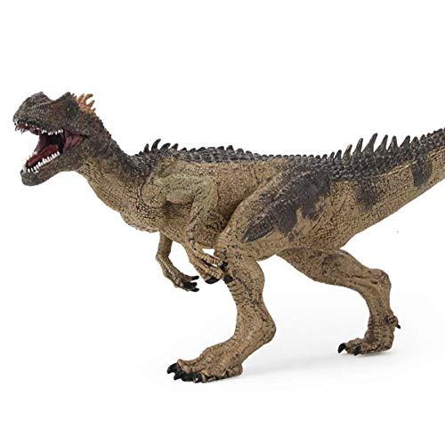 GSDGSD 26cm Jurassic World Park Allosaurus Modelo de Dinosaurio Juguetes Animal plástico PVC Figura de acción Juguete para niños cumpleaños Mejores Regalos