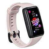 HONOR Band 6 Pulsera de Actividad Inteligente para Hombre Mujer Android iOS, Pantalla Táctil de 1,47' Impermeable 5ATM Smartwatch con Monitor de Sueño Pulsómetros Podómetro Contador de Caloría, Rosa
