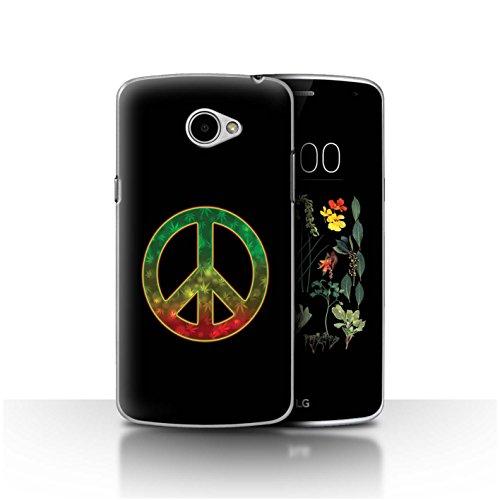 Stuff4 Hülle/Hülle für LG K5/X220 / Welt Frieden Symbol Muster/Rasta Reggae Kunst Kollektion