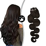 Best Sexybaby Human Hair Extensions - Moresoo 20 Inch Clip in Hair Extensions Human Review