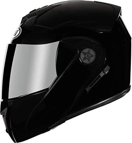 N-B Casco de moto modular Duallens Racing Casco Safehelmet