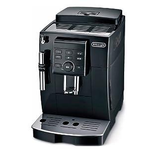 Delonghi ECAM 23.120.B – Cafetera superautomática, 1450 W, depósito agua extraíble 1.8 L, sistema capuccino, panel control personalización de cafés, 2 tazas, espumador leche, negro