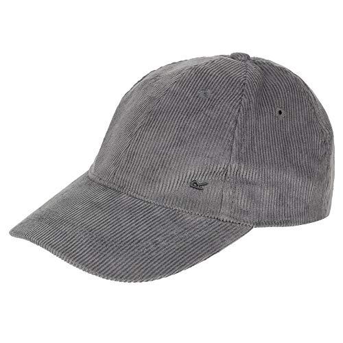 Regatta - Gorra de Pana Modelo Cadell para Hombre (One Size) (Gris Foca)