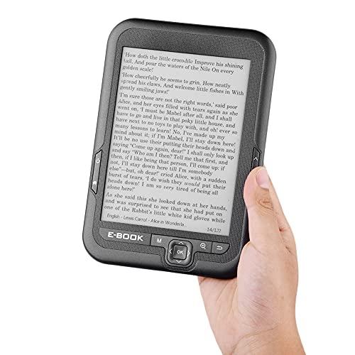 リーダーPaperwhite電子リーダー、読みやすさの解像度が簡単な3.5mmヘッドフォン用800x600電子書籍リーダー(grey, 16G, black)