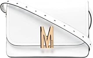 Moschino Couture Big M Kalbsleder weiß