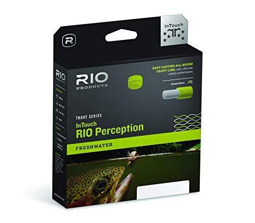 RIO Products Fly Line Rio Perception Wf5F Green, Green-Camo-Tan
