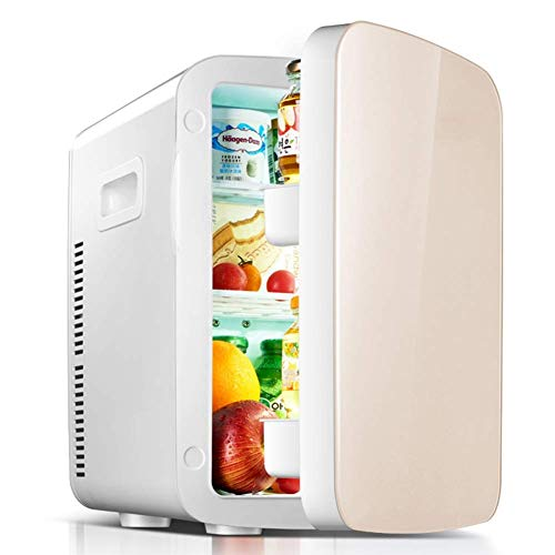 LXYZ 18L Electric Car Refrigerator, Portable Mini Fridge with Cold and Hot Functionality, ECO Power Saving Mode - AC & DC For Car And Home
