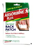 Absorbine Jr. Medicated Patch Pain Relief Back Patch 1 ea (pack of 10)