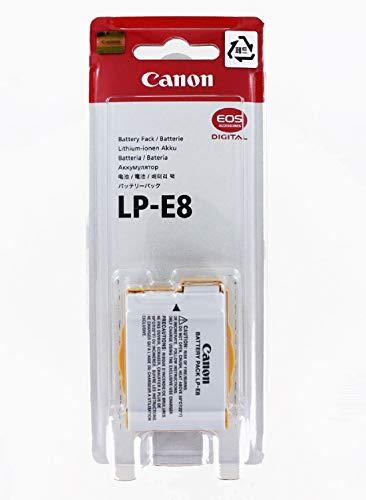 Original Akku für CANON EOS 550D|EOS 600D|EOS 650D|EOS 700D, Camcorder/Digitalkamera Li-Ion Batterie