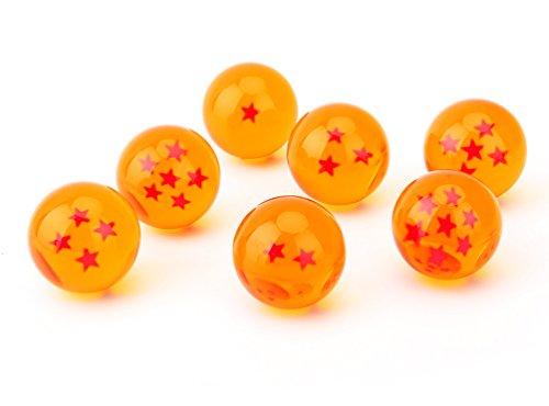 Children Toy New Gift Box Set of 7pcs Dragon Ball Z 43mm/1.6' Stars Crystal Ball