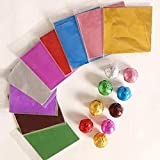 Mount Assorted Colour Foil Wrappers for Chocolate, 9.5 x 9.5 cm, 300 Pieces