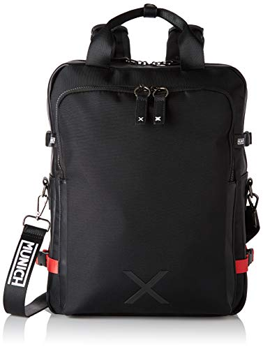 Munich Messenger Jungle, Bolsa para portátil Unisex Adultos, Negro (Black), 42x14x33 cm (W x H x L)