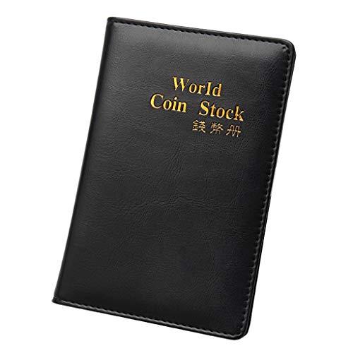 WT-DDJJK Pince à Billets, 60 Collection Stockage Penny Pockets Album d argent Livre de Collection Porte-Monnaie, Ventes du Vendredi Noir 2020