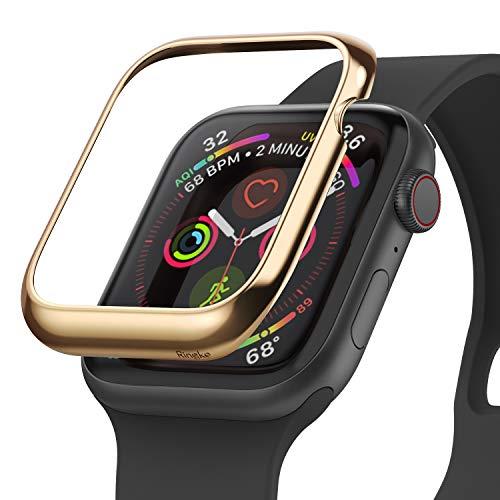 Ringke Bezel Styling Diseñado para Funda Apple Watch Series 6 44mm (2020), Carcasa Apple Watch SE 44mm, Funda Acero Inoxidable para Apple Watch 44mm Series 6 / SE / 5/4 - AW4-05