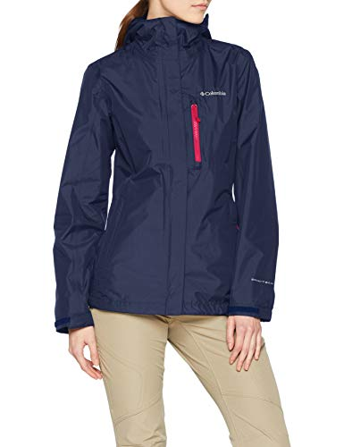 Columbia Damen Pouring Adventure II Rain Jacket, Blau (Nocturnal), M
