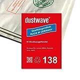 dustwave - Pack de ahorro – 10 bolsas para aspiradora Numatic – HRP-200 Henry Plus ECO – Fabricado en Alemania