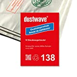 dustwave - Lote de 10 bolsas para aspiradora Numatic - CVC370 Charles