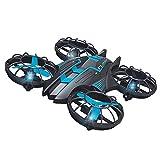 luminiu 0.3MP FPV WiFi 2.4G Quad Quad Drone Mini RC Drone,Drone Plegable Drone con Cámara para Principiantes y Niños Profesional Drone Video Profesional Drone Modo sin Cabeza Grandes Regalos Juguetes