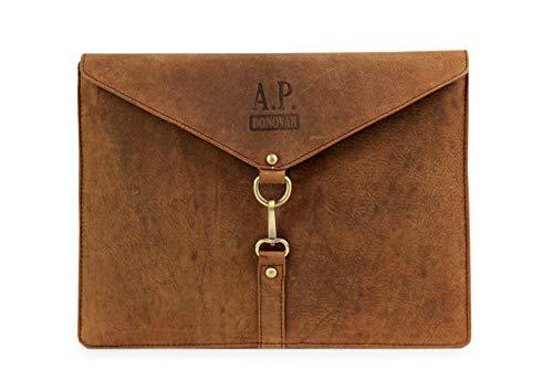 Preisvergleich Produktbild A.P. Donovan - Tasche für iPad Pro 12.9 and MacBook 12 / Ledertasche / iPadtasche / Tablettasche / Sleeve / Hülle / Case