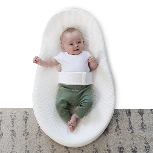 Baby Lounger, Ortiz Professional Design Baby Nest Sleeper, Portable Baby Nest, Breathable & Soft 100% Cotton Co-sleeping for Newborn Baby, Memory Foam Baby Crib, Best Ideal Gift for Infant