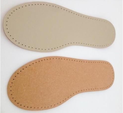 Stafil Leder Sohle für Filzschuhe, Socken zum Stricken, Häkeln Filzen