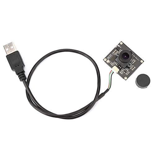 Módulo de cámara USB, 2 millones de píxeles 1600 * 1200 Módulo de Webcams USB con lente gran angular de 120° HD con chip OV2643 para monitoreo de seguridad, equipos industriales ⭐