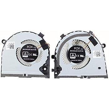 GPU Fan DXCCC CN-0GWMFV Laptop Replacement Cooler Fan for Dell G3-3579 GPU Cooling Fan FCN DFS481105F20T FKB7
