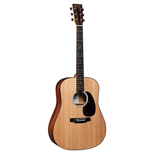 Martin Guitar Road Series D-10E Acoustic-Electric Guitar with Gig Bag, Sitka Spruce and Sapele Construction, D-14 Fret and Performing Artist Neck Shape with High-Performance Taper