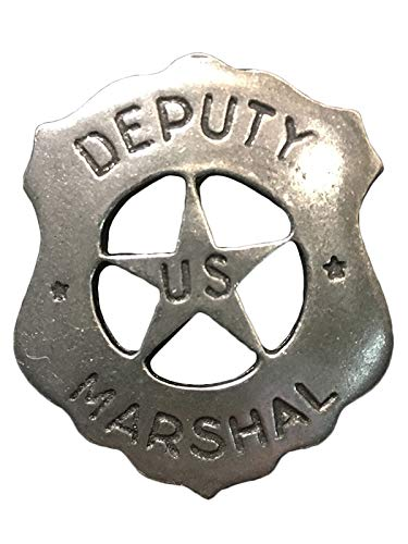 Anstecker Pin Sheriffstern Deputy Marshal Historische Nachbildung Made in USA Western Country