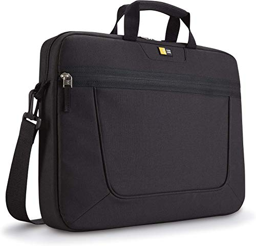 Case Logic Polyester Basic Slim Attache Case for 15.6-Inch Laptop - Black