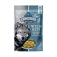 PACKED WITH REAL CHICKEN: Made with more of the delicious chicken your dog loves, BLUE Wilderness Wild Bits are the soft-moist and meaty treat made to satisfy their wild side MADE WITH DHA: An important fatty acid found in mother's milk, DHA helps pr...