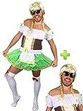 Disfraz de Tirolesa Verde para Hombre - Despedidas de Soltero