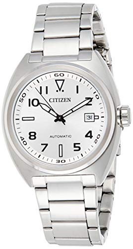 Citizen Men's Analogue Automatic Watch with Stainless Steel Strap...