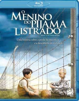 Blu-Ray O Menino Do Pijama Listrado