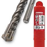 SCHWABENBACH  Broca SDS Max de 40 mm x 600 mm, para hormigón, perforación precisa y rápida en hormigón, calidad prémium con punta de metal duro, larga sin enganchar en hierro de armadura, 40 x 600 mm