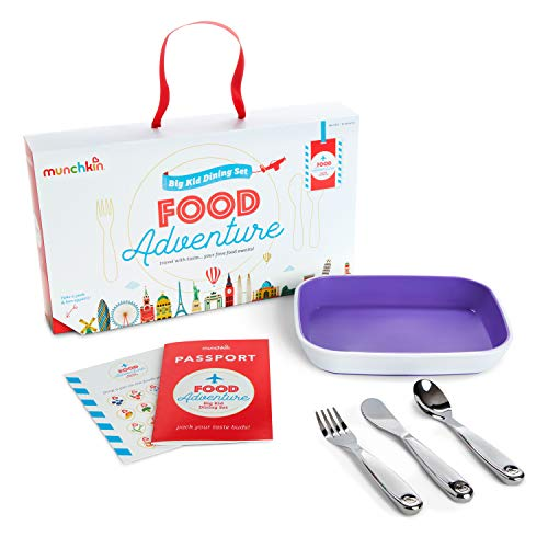 Munchkin Coffret Repas Food Adventure Splash, Violet