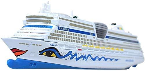 1yess Modell Die Casting Car Engineering Fahrzeug Modell Legierung Auto Modell Kreuzfahrtschiff Geschwindigkeit Bootsspielzeug Spielzeug Modell Puzzle 8bayfa