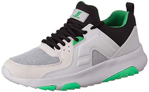 Amazon Brand - Symactive Men's Grey Running Shoes- 8 UK (SYM-YS-004C)