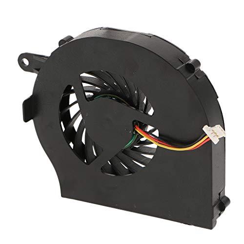 H HILABEE Disipador Térmico del Ventilador De Enfriamiento De La CPU del Portátil para HP Pavilion G62 G72 Presario CQ62 CQ72