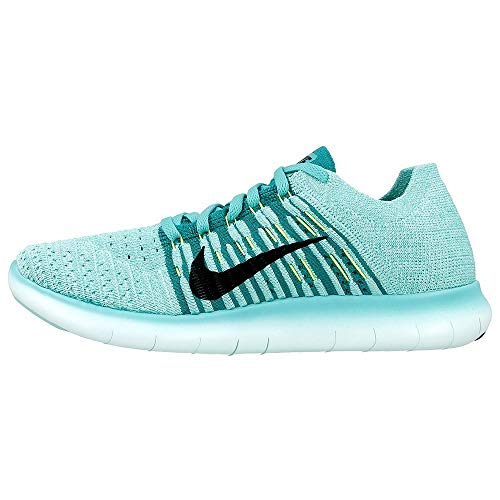 Nike Free Rn Flyknit, Women's Competition Running Shoes, Turquoise (Hyper Turquoise/black/volt/teal), 3 UK (36 EU)