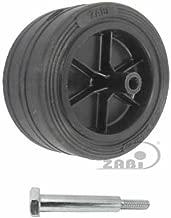 ZAB-S Rasenm/äherrad Rad /Ø310mm Ersatzrad Universalrad Vollgummi Code:310TLL//15