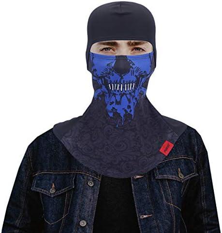 Koolip Windprfoof Skull Balaclava mask Tactical Motorcycle Ski Mask Helmet Liner Halloween Ghosts product image