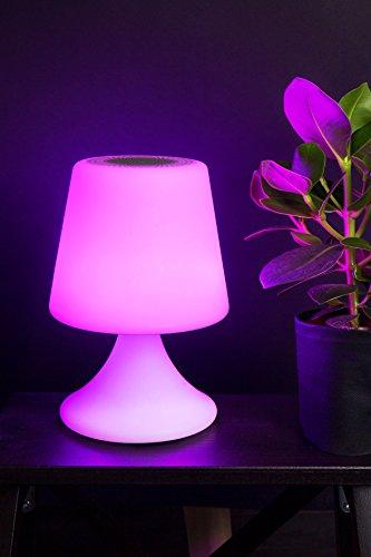 RUECAB 3465200027238 Lampe LED Bluetooth Multicolor, Multicolore, 16x26x16 cm
