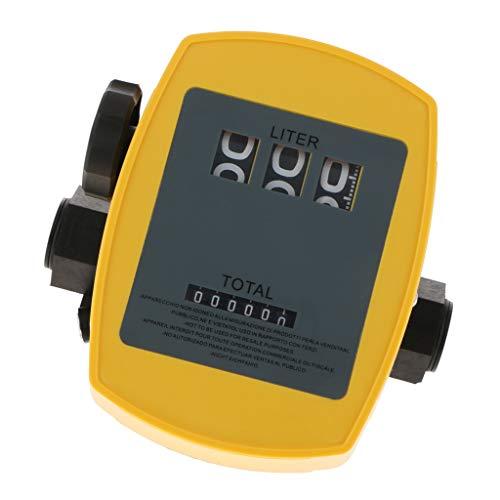 Homyl Débitmètre Mécanique De Carburant Précision 1% 20l-120l Min 1inch Compteur Carburant