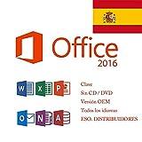 Office 2016 Professional Plus (código clave + enlace de descarga por correo electrónico) para 1 PC 1 usuario No se le ha enviado ningún Cd / Dvd / USB